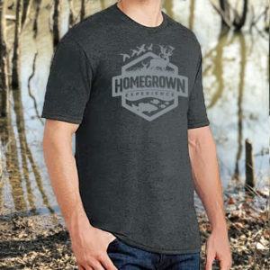 Homegrown Experience Logo T – Black Frost
