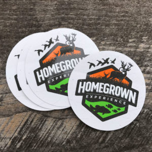 Homegrown Logo Sticker