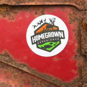 Homegrown Logo Sticker