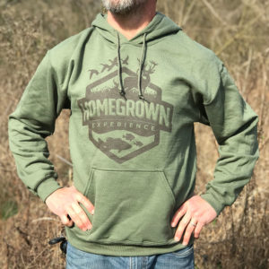 Homegrown Experience Sweatshirt – Military Green